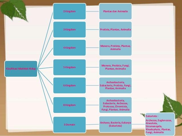 Image of: Diagram 11 Kingdom Slideshare Klasifikasi Makhluk Hidup