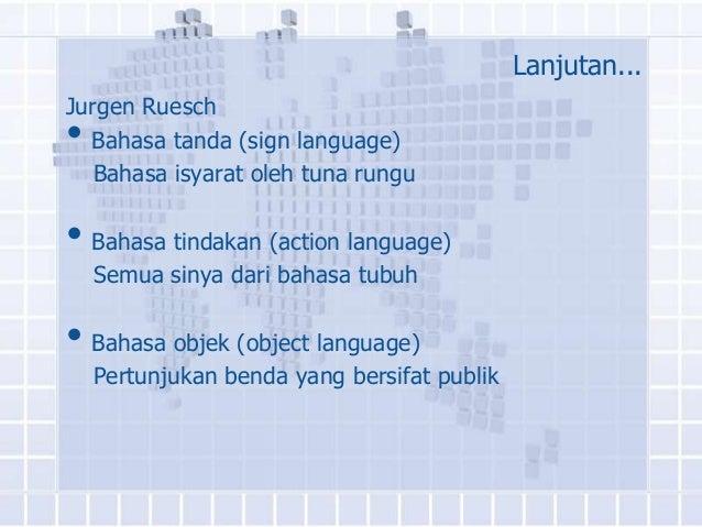 Klasifikasi pesan non verbal dan konsep waktu Slide 3
