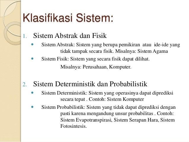 Aplikasi Sistem Dan Metode Sistem