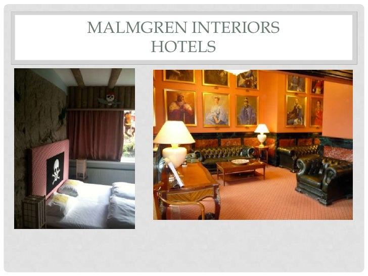 MALMGREN INTERIORS     HOTELS
