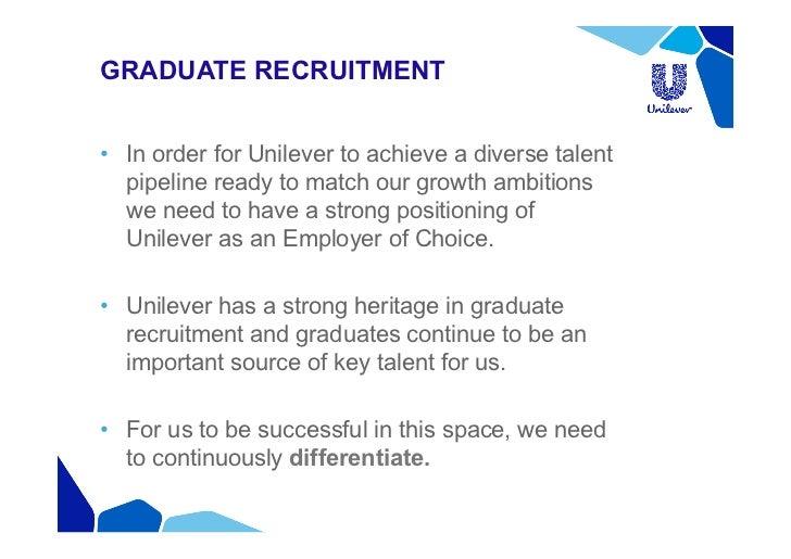 klazien van vliet - differentiation in graduate recruitment at unilev…, Presentation templates