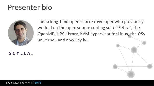 Scylla Summit 2018: In-Memory Scylla - When Fast Storage is Not Fast Enough Slide 2