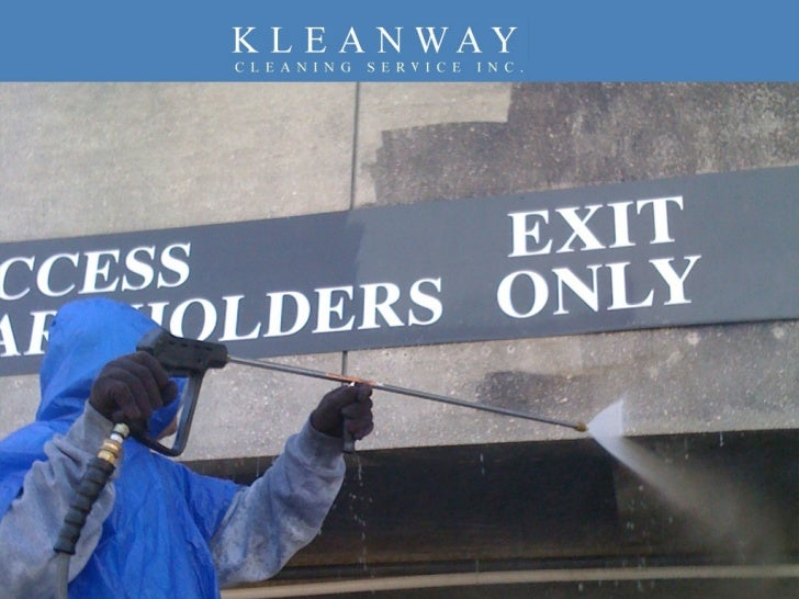 Kleanway Cleaning Service Inc. - Roof Cleaning & Pressure Washing Services Slide 1