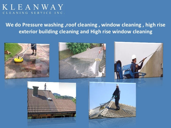 Kleanway Cleaning Service Inc. - Roof Cleaning & Pressure Washing Services Slide 3