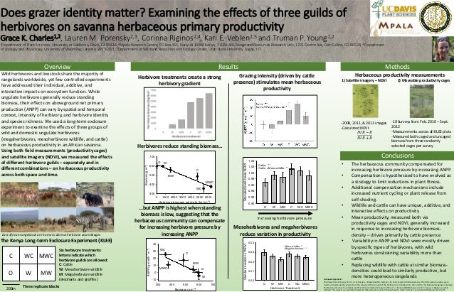 Does grazer identity matter? Examining the effects of three guilds of herbivores on savanna herbaceous primary productivit...