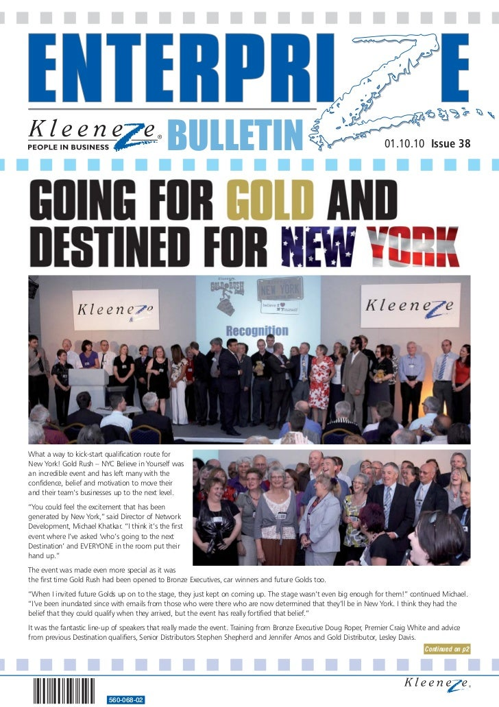 BULLETIN                                                              01.10.10 Issue 38What a way to kick-start qualificat...