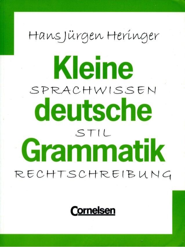H-21AisjUtregv',F-f-envdogrKleineSPRACH- W S SENdeutscheST1 LGrammatikR_Eaf--1- T(SCM-1- REINCtComelsen