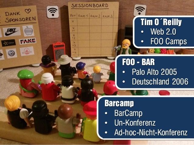 Barcamp • BarCamp • Un-Konferenz • Ad-hoc-Nicht-Konferenz Barcamp • BarCamp • Un-Konferenz • Ad-hoc-Nicht-Konferenz Tim O´...