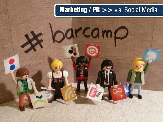 Marketing / PR >> v.a. Social MediaMarketing / PR >> v.a. Social Media