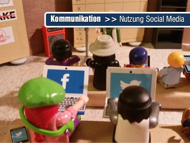 Kommunikation >> Nutzung Social MediaKommunikation >> Nutzung Social Media
