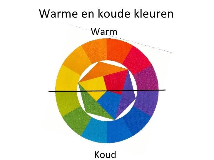Kleuren - Warme en koude kleuren in verf ...