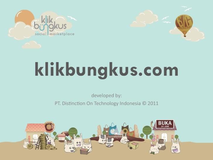 Klikbungkus - Social Shopping E-commerce Website