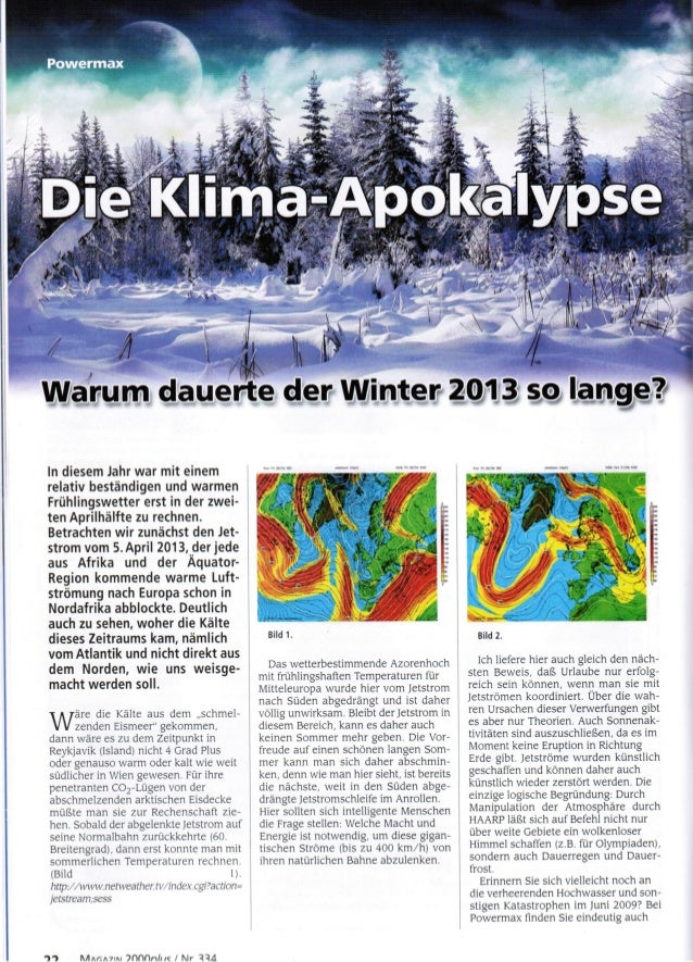 Klima apokalypse