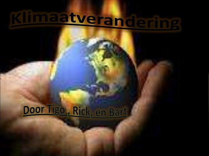 Het klimaat verandert en de aarde warmt opals gevolg van ons energiegebruik. Als we nietsdoen, dan wordt nog deze eeuw een...