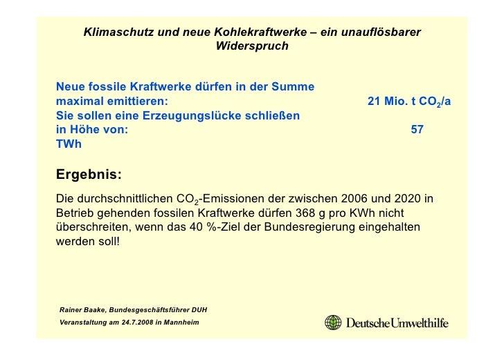 Klimaschutz und neue Kohlekraftwerke – ein unauflösbarer                            Widerspruch   Neue fossile Kraftwerke ...