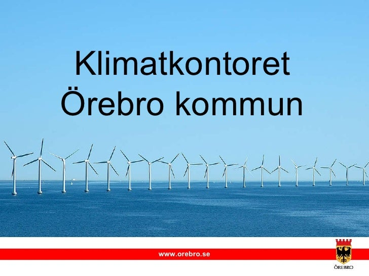 Klimatkontoret Örebro kommun