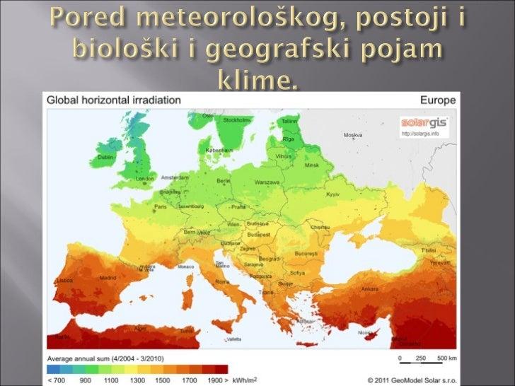 klimatska karta evrope Klime Europe klimatska karta evrope