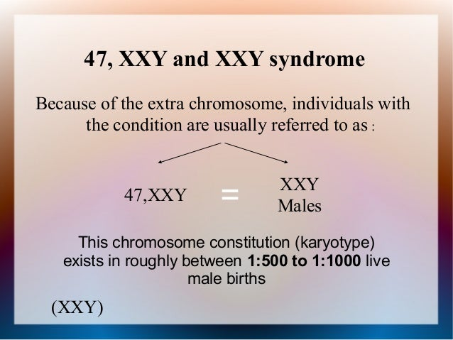 extra sex chromosome xxy in Belleville