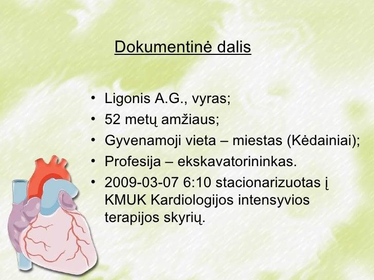 Klinikinis Atvejis. Miokardo Infarktas Slide 2