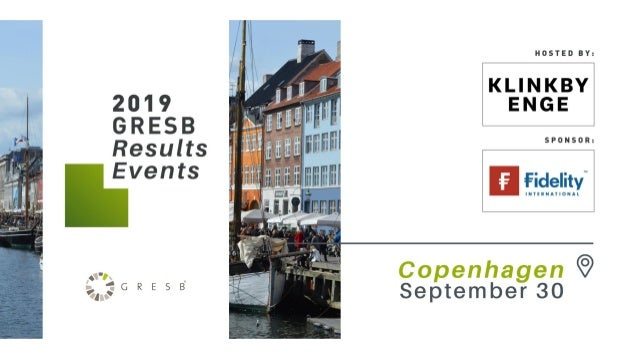 Agenda ⟩ 09:00: Welcome & introduction | Anders Klinkby, Managing Partner, Klinkby Enge ⟩ 09:05: Introduction to GRESB & R...