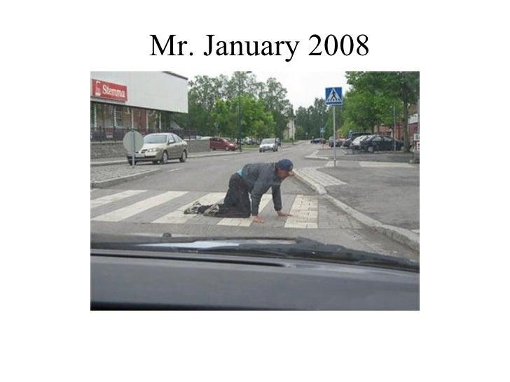 Mr. January 2008
