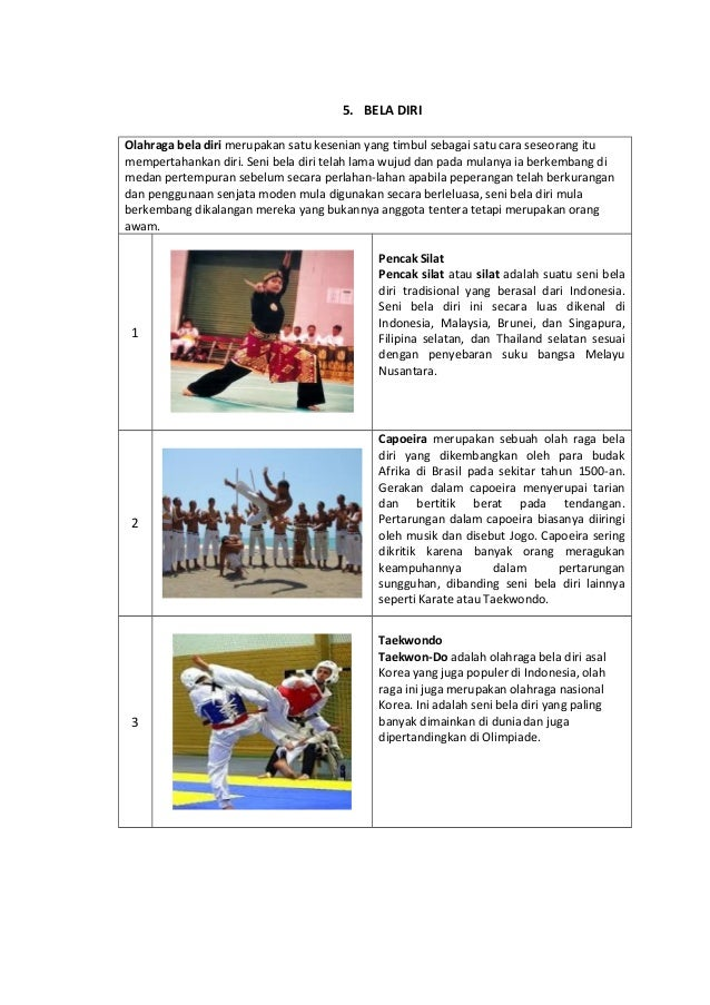 Contoh Kliping Olahraga Beserta Gambarnya