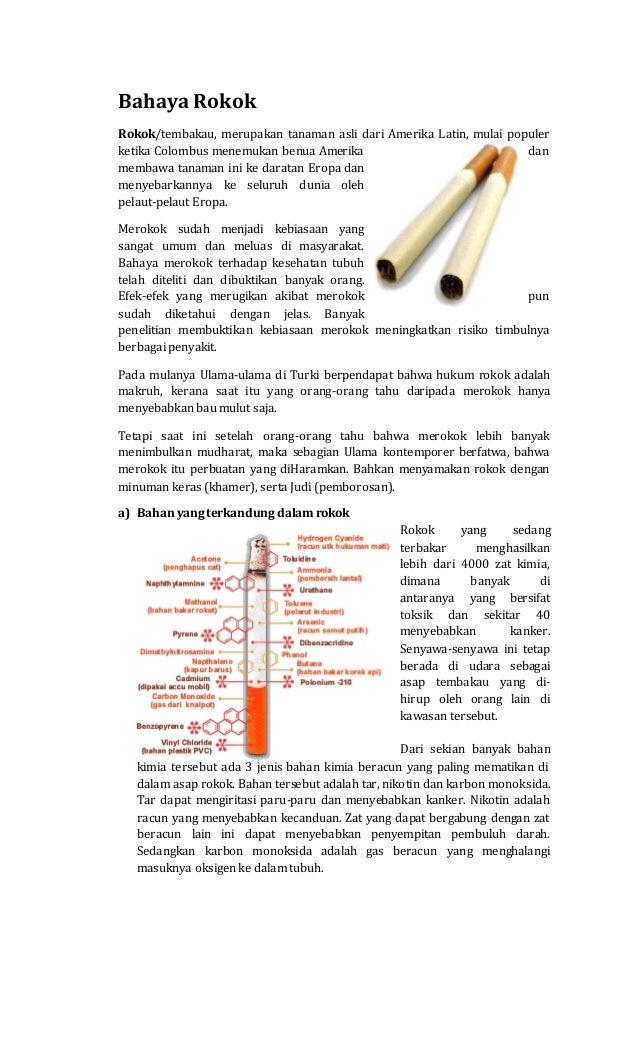 Kliping Bhaya Merokok