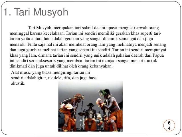 Kliping Tari Daerah Nusantara