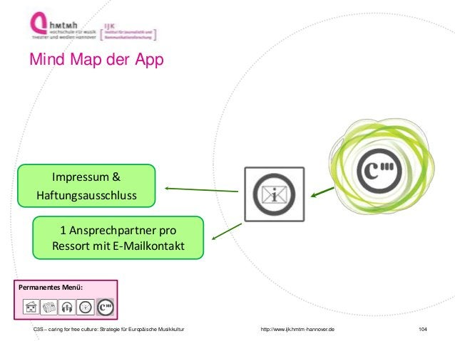 http://www.ijk.hmtm-hannover.de Permanentes Menü: Impressum & Haftungsausschluss 1 Ansprechpartner pro Ressort mit E-Mailk...