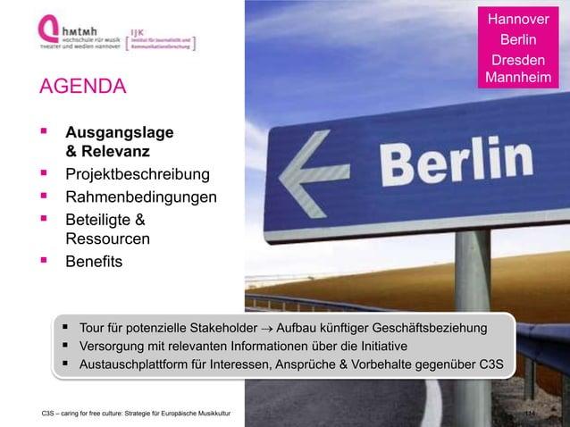 http://www.ijk.hmtm-hannover.de Hannover Berlin Dresden Mannheim  Tour für potenzielle Stakeholder Aufbau künftiger Gesch...