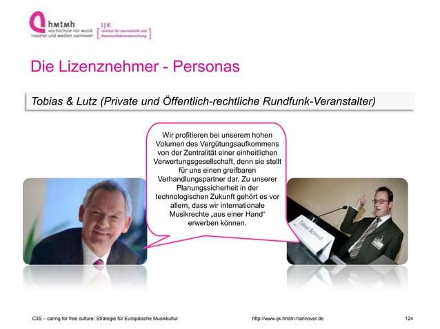 http://www.ijk.hmtm-hannover.de Die Lizenznehmer - Personas Tobias & Lutz (Private und Öffentlich-rechtliche Rundfunk-Vera...
