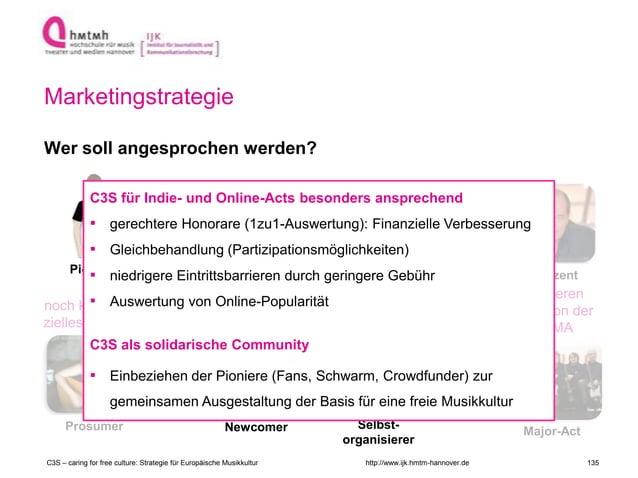 http://www.ijk.hmtm-hannover.de Marketingstrategie Wer soll angesprochen werden? Indie-Musiker Newcomer Produzent Major-Ac...