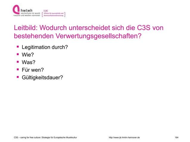 http://www.ijk.hmtm-hannover.de  Legitimation durch?  Wie?  Was?  Für wen?  Gültigkeitsdauer? Leitbild: Wodurch unter...