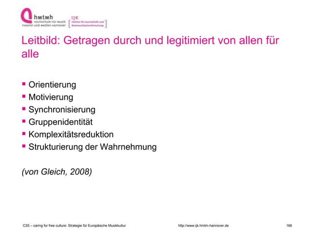 http://www.ijk.hmtm-hannover.de Leitbild: Getragen durch und legitimiert von allen für alle  Orientierung  Motivierung ...