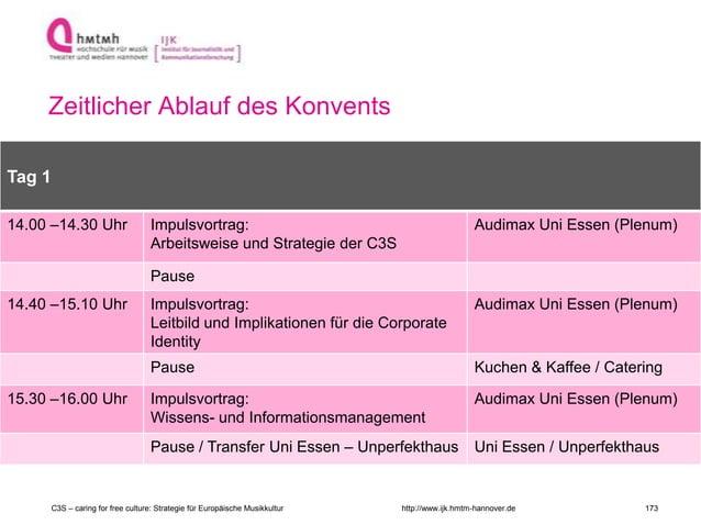 http://www.ijk.hmtm-hannover.de Zeitlicher Ablauf des Konvents Raum 2 Tag 1 14.00 –14.30 Uhr Impulsvortrag: Arbeitsweise u...