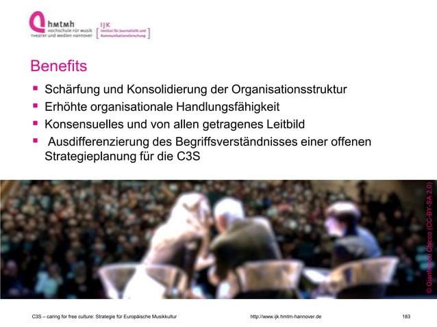 http://www.ijk.hmtm-hannover.de Benefits  Schärfung und Konsolidierung der Organisationsstruktur  Erhöhte organisational...
