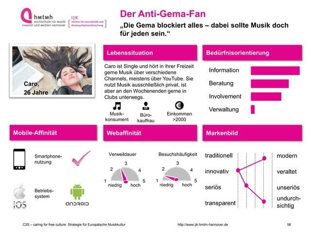 http://www.ijk.hmtm-hannover.deC3S – caring for free culture: Strategie für Europäische Musikkultur Caro, 26 Jahre Lebenss...