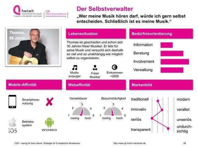 http://www.ijk.hmtm-hannover.deC3S – caring for free culture: Strategie für Europäische Musikkultur Lebenssituation Bedürf...