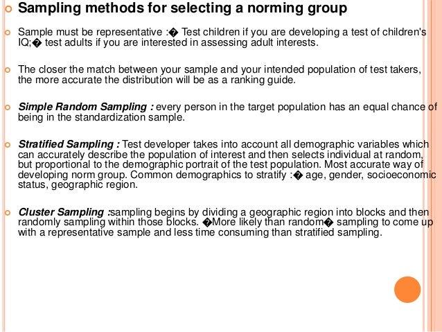 psychological assessment standardization, evaluation etc