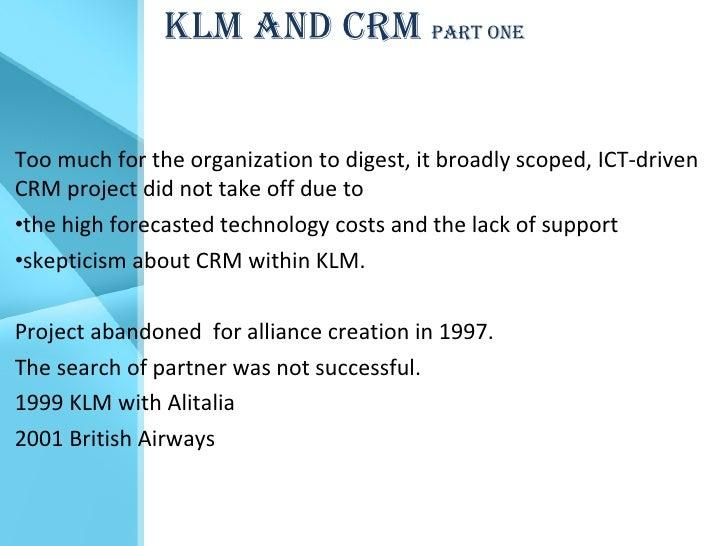 Customer Relationship Management - Case Study ... - SlideShare