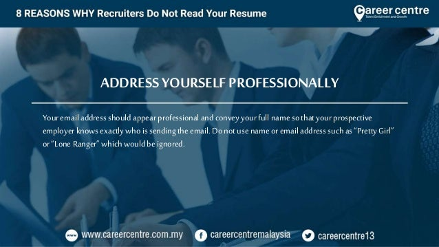 8 Reasons why Recruiters Do Not Read Your Resume