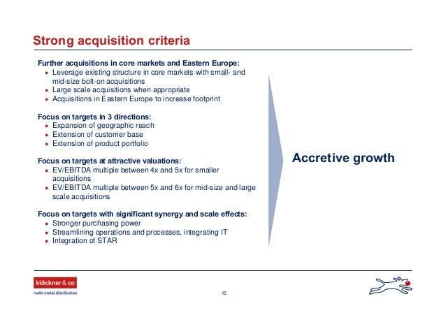 Klöckner & Co - Dresdner Kleinwort - German Investment