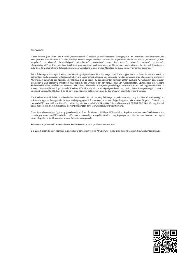 Klöckner & Co - Zwischenbericht zum 31. März 2013