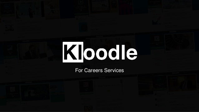 Kloodle for Careers Services