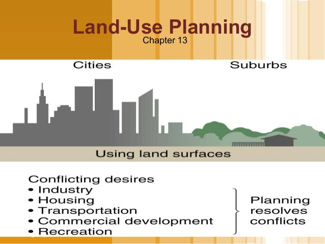 Land-Use Planning                             Chapter 13  LOGOwww.themegallery.com