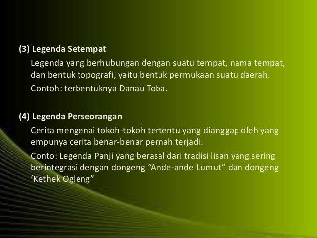 Antropologi Tradisi Lisan Di Indonesia
