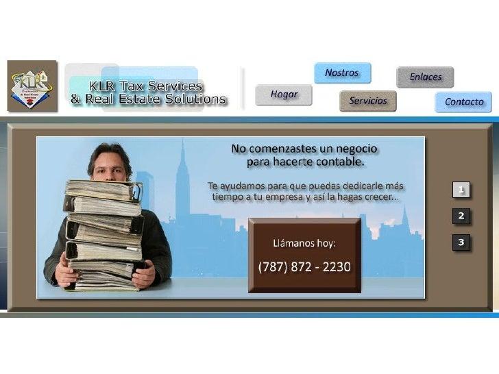 KLRTaxServices.com Promo 2012