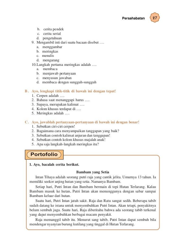 Contoh Cerpen Persahabatan Dalam Bahasa Jawa - Contoh 317