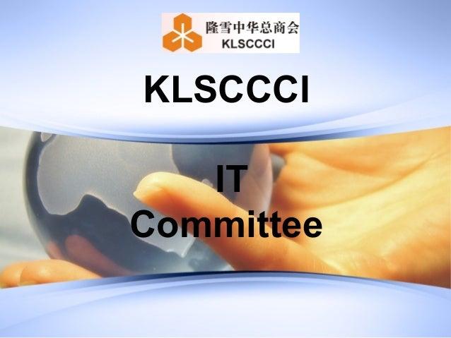 KLSCCCI   ITCommittee
