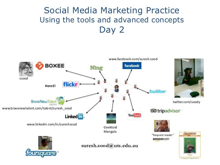 Social Media Marketing Practice                      Using the tools and advanced concepts                                ...